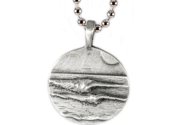 Left Rights Wave Pendant