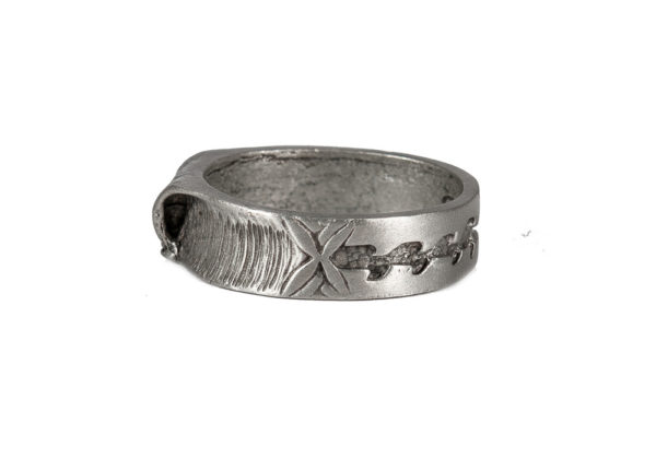 Double Up Wave Ring