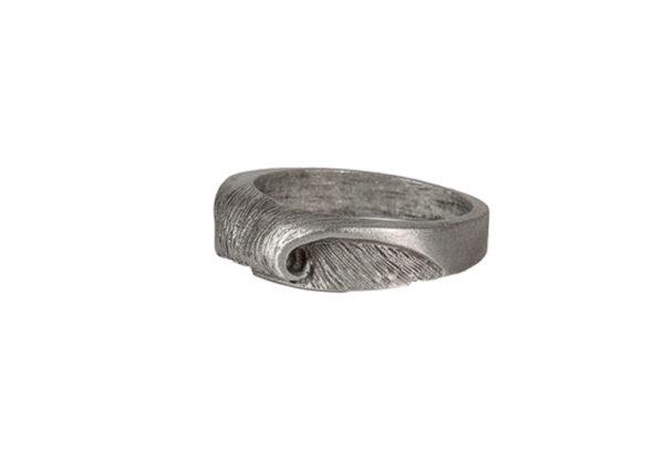 Peak Barrel Wave Ring