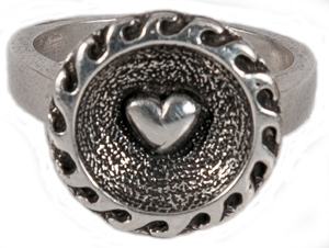 Lovers Beach Wave Ring